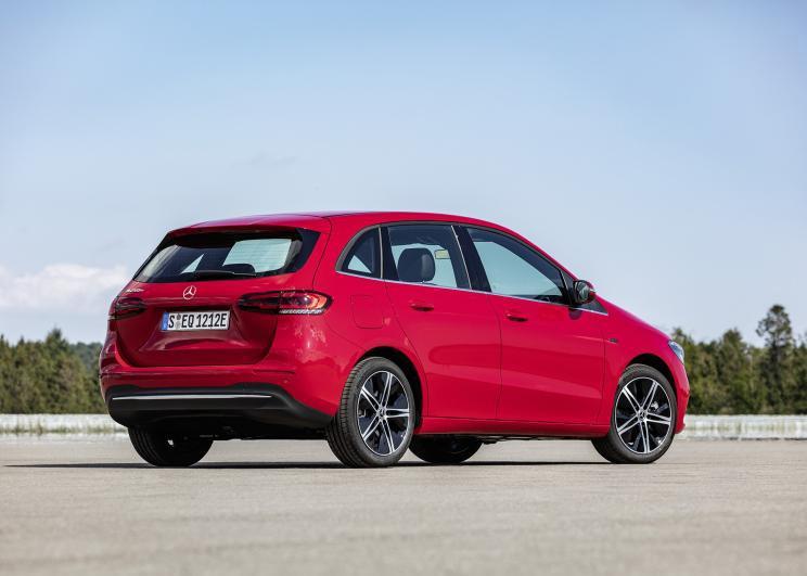 奔驰新能源车型B 250 e 将于法兰克福车展亮相