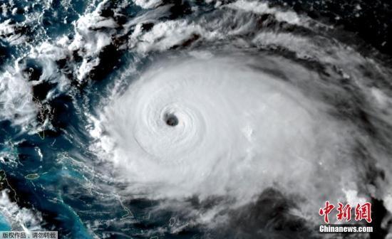 """好国国度飓风研讨中间1日称,年夜西洋飓风""""多里安""""已晋级为5级飓风。"""