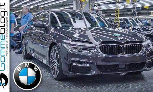 视频:2020宝马5系-生产(德国汽车厂)