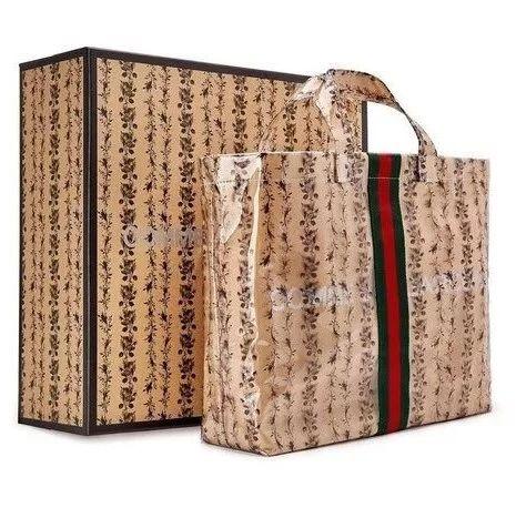 COMME des GARONS x Gucci 全新联乘 Tote Bag 即将上架