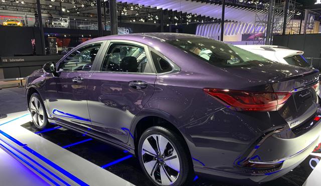 2019成都车展探馆 基于智道U7打造 北汽新能源EU7即将亮相