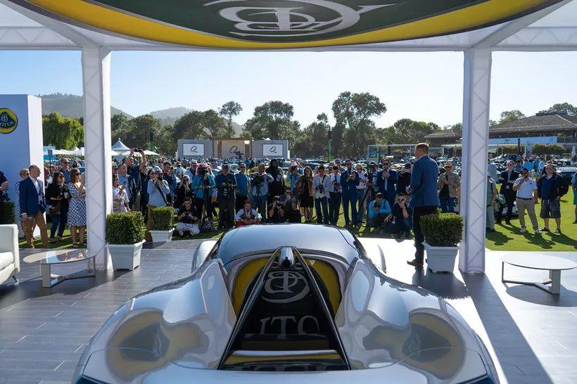 布加迪可能都不是对手 路特斯2000马力电动超跑亮相