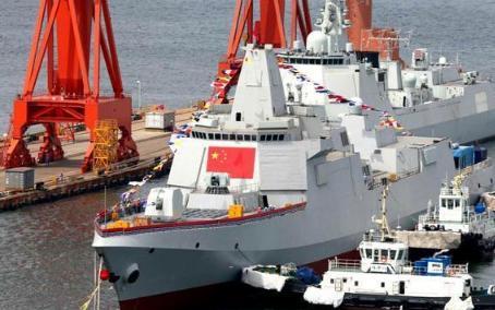 055型万吨驱逐舰又有了新的突破!已安装相控阵雷达?