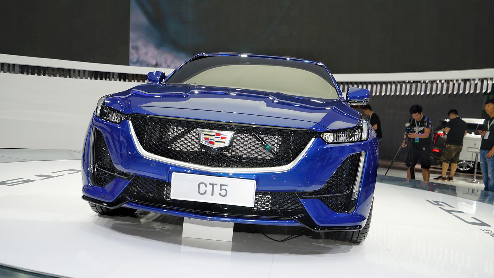全新凯迪拉克CT5实车真的帅哭了…| 2019成都车展