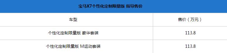 2019成都车展:宝马X7正式上市 售113.8万元