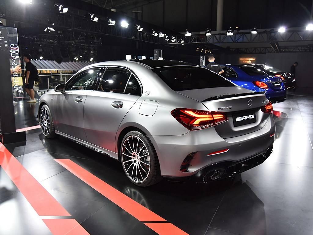 预售价40-44万元,国产AMG A 35 L于成都车展开启预售