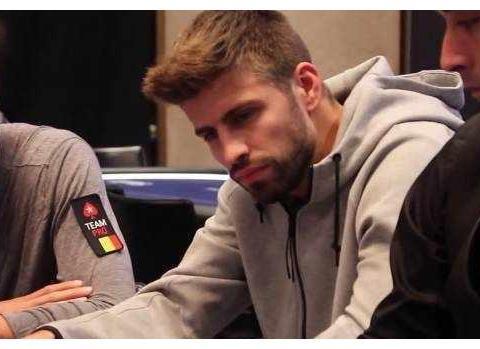 前段时间的欧洲扑克巡回赛上,巴萨球星皮克狂赢近50万欧元