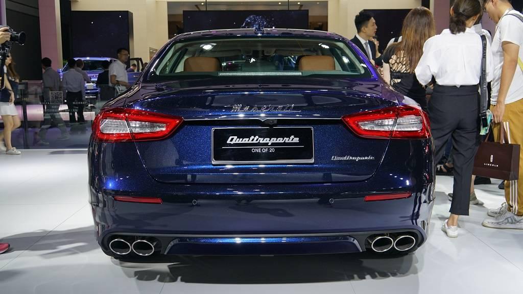 成都车展,玛莎拉蒂总裁尊贵蓝全球限量版,中国发售20台