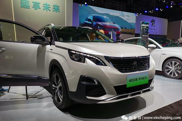 2019成都车展:东风标致携全新4008 PHEV首发亮相。