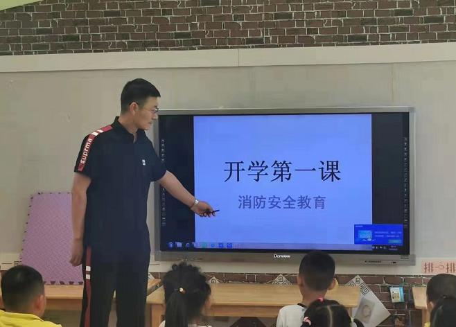 """天津市集中开展消防安全""""进学校""""活动"""