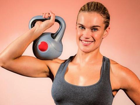 全身塑形燃脂锻炼计划,3个壶铃动作,帮你轻松搞定!