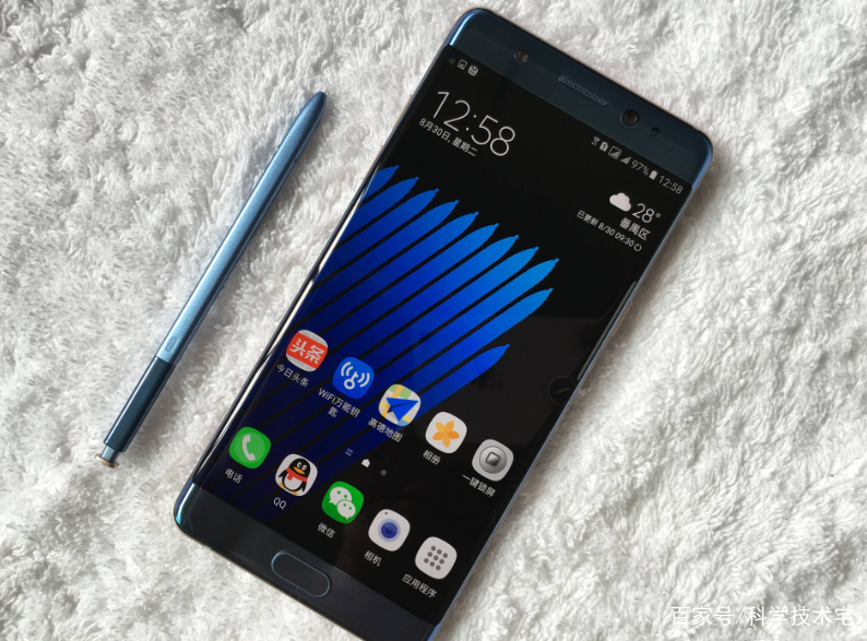 note7爆炸历历在目,三星引入石墨烯电池,或成最安全手机?