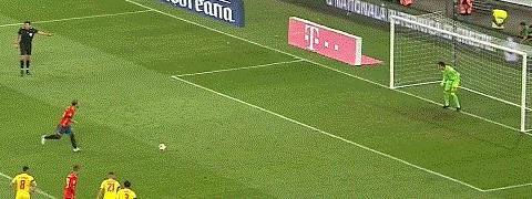 「欧预赛」拉莫斯+阿尔卡塞尔建功 10人西班牙2比1