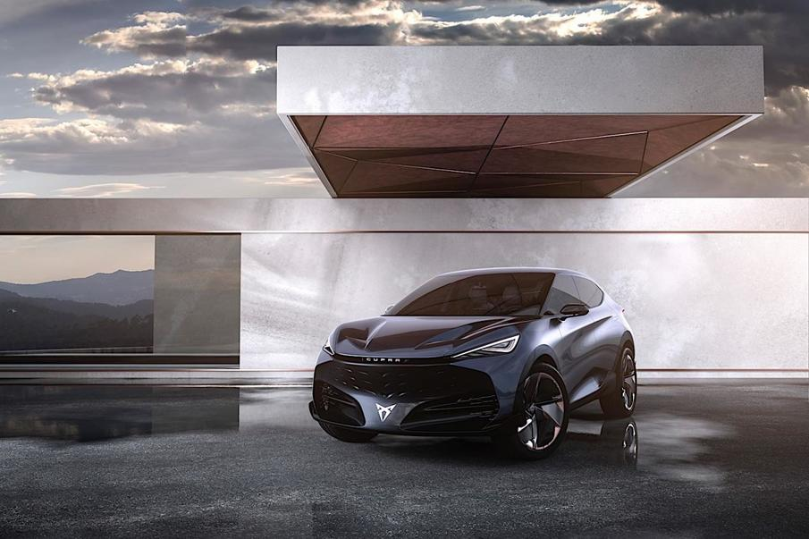 Cupra 概念车官图发布,首款电动轿跑,百公里加速6.5S