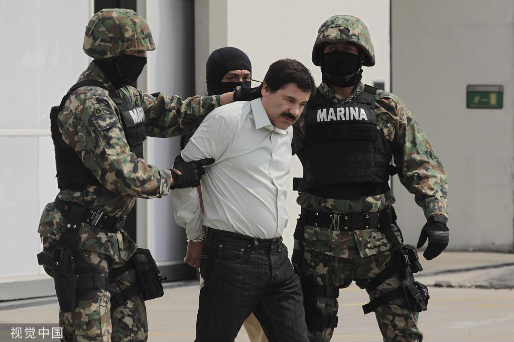 當地時間2014年2月,古斯曼被捕。圖/視覺中國