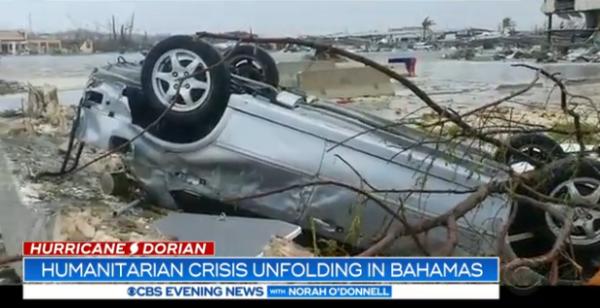 """飓风""""多里安""""已致巴哈马30人死亡,遇难人数或将继续攀升"""