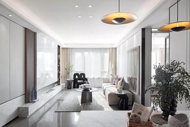 面积70平米的房子好不好?现代风格装修案例!-保利观塘装修