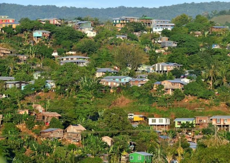 所罗门群岛基础设施落后 图源:社交媒体