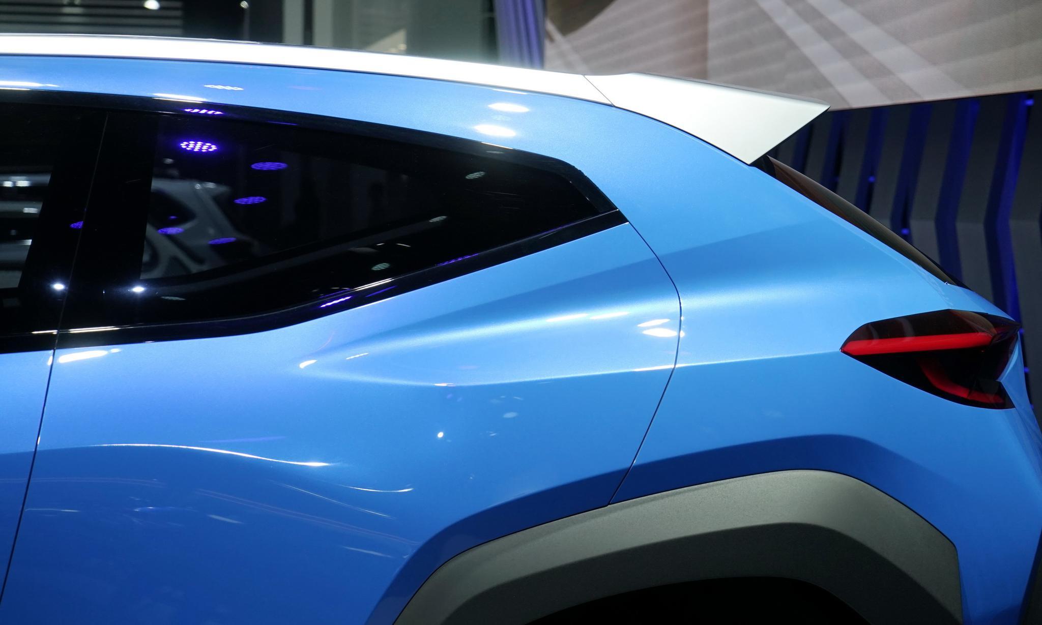 代表新的设计方向,斯巴鲁VIZIV ADRENALINE概念车