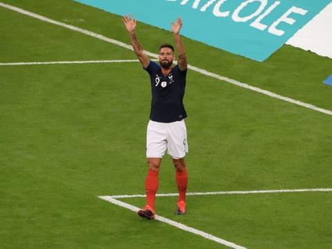 吉鲁:若能超越普拉蒂尼的国家队进球数,我会非常骄傲