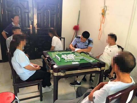 紫阳警方查获一起赌博案,查获参赌人员8人
