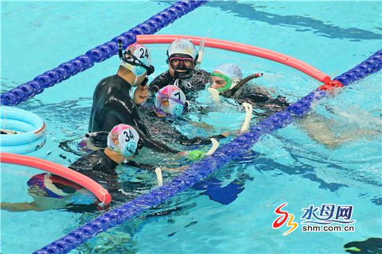 全国蹼泳、自由潜水、水下曲棍球锦标赛在烟台开赛