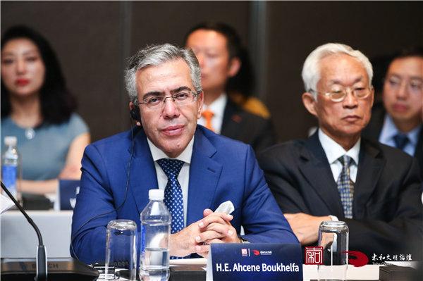阿尔及利亚驻华大使:提升基础设施互联互通取得巨大进步