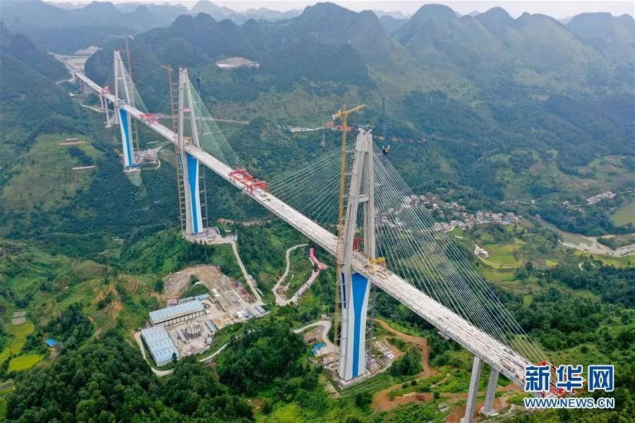 ▲8月30日无人机拍摄的仄塘特年夜桥(新华社)