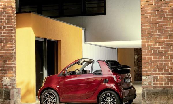 Smart电动小车改款 EQ fortwo、forfour法兰克福车展亮相