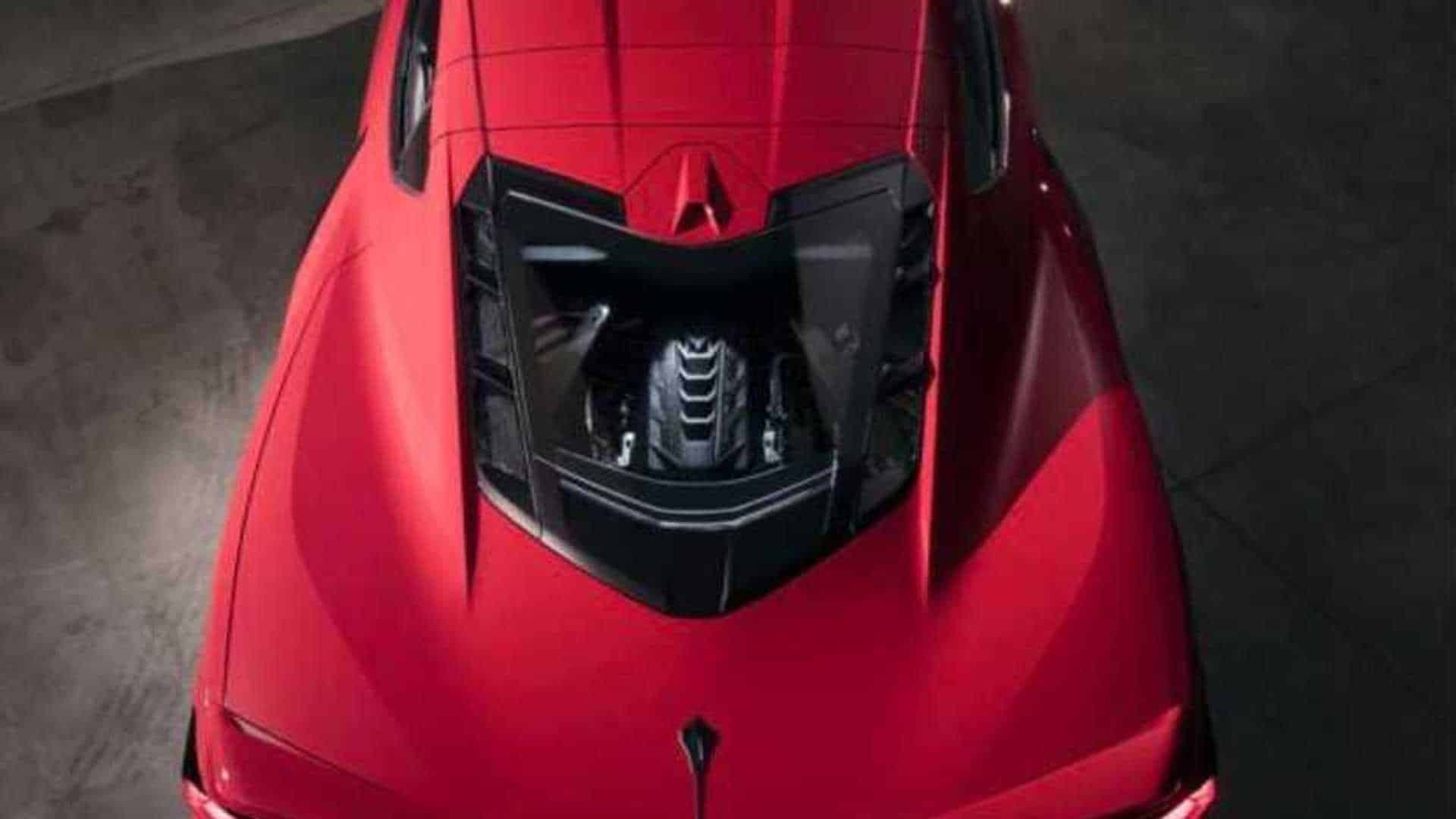 全新科尔维特C8 Stingray发布,采用中置发动机,更快更强