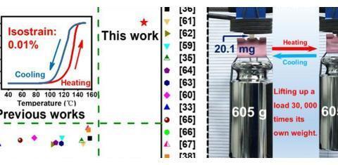 东南大学杨洪教授团队《JACS》:超强液晶弹性体人工肌肉