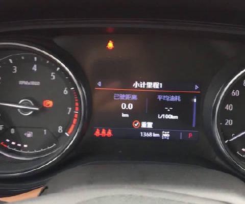 视频:全新昂科拉GX仪表盘显示器功能