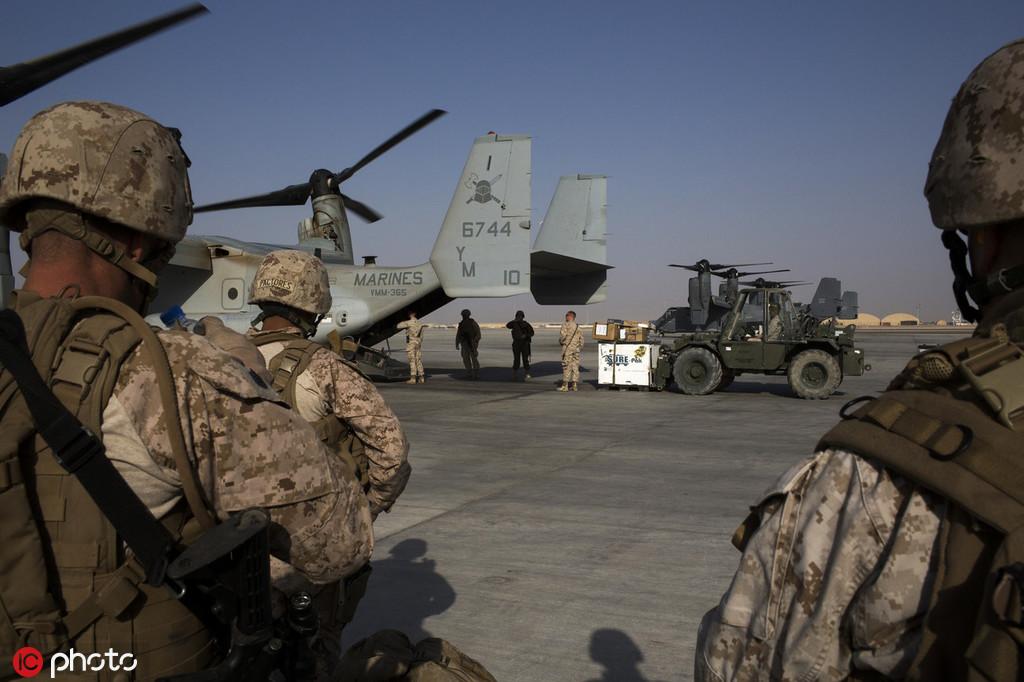 目前美军在阿富汗尚驻有1.4万名士兵  <p></p> </div>    </div>  </div>  </div>  <div class=
