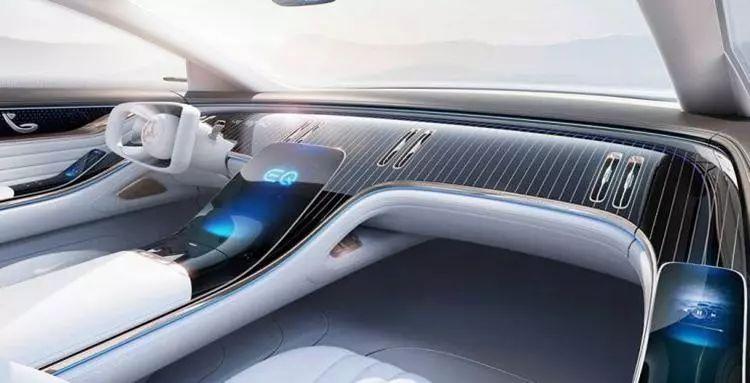 电动版S级?奔驰首款纯电动豪华轿车EQS曝光