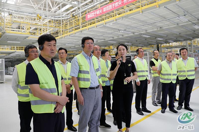 北京怀柔区党政代表团赴河北省怀安县对接扶贫协作工作