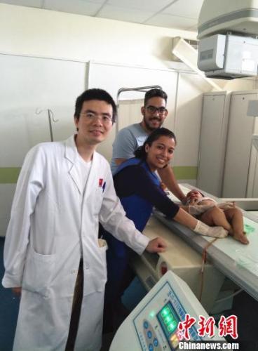 中国无创技术走进摩洛哥为肠套叠儿童解除痛苦