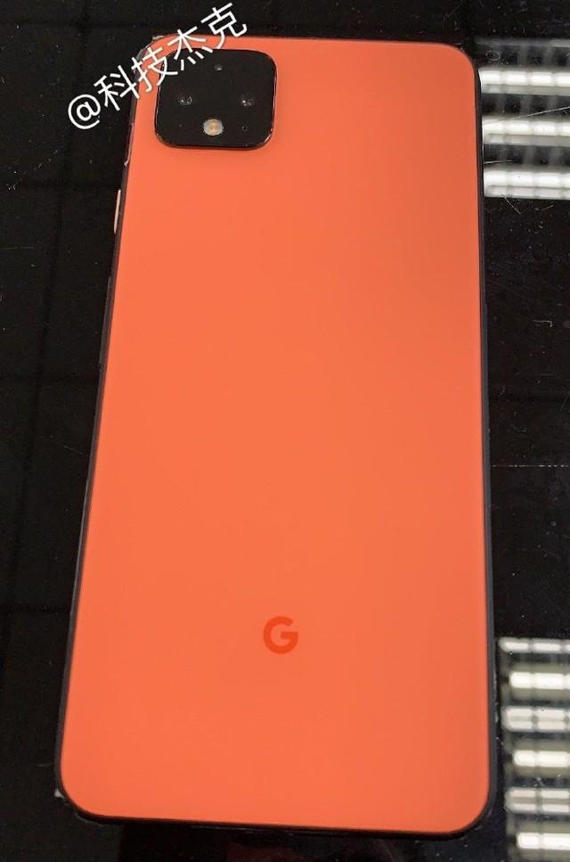 谷歌Pixel 4 XL真机再曝 珊瑚色机身十分抢眼