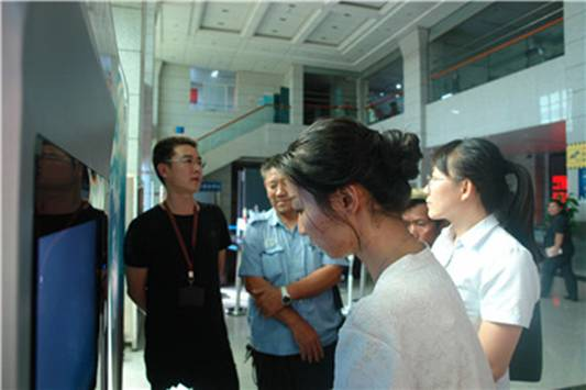 云南省景洪市人民法院启用诉讼服务自助终端