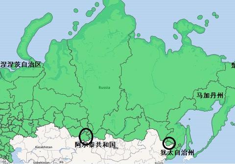 俄罗斯人口最少的5个省级行政区:有的与3国为邻,有的是前哨阵地