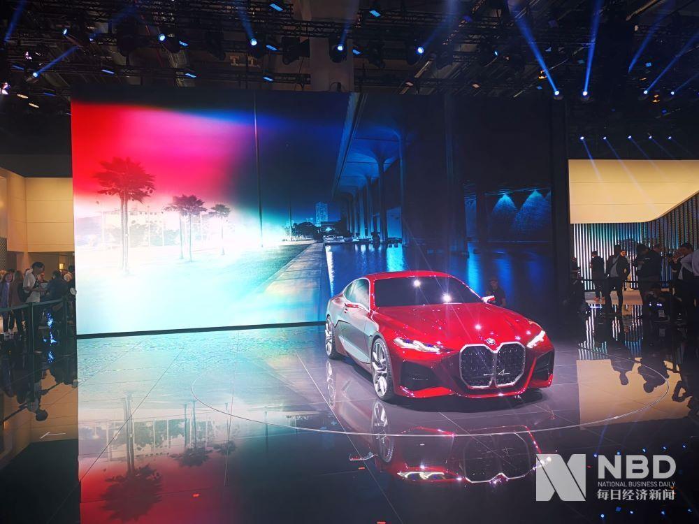 宝马多款车型亮相2019法兰克福车展 全新BMW X6全球首发