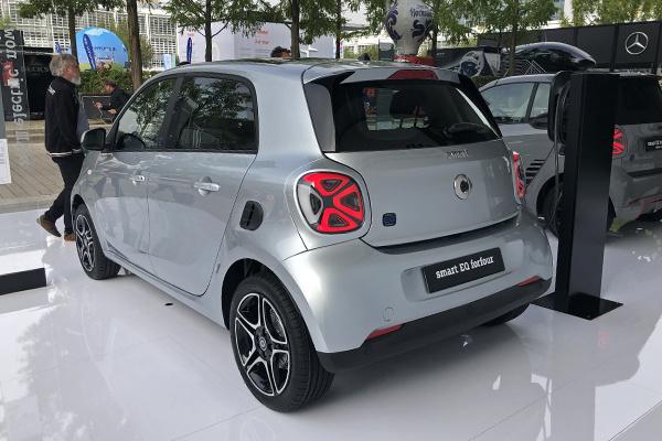 2019法兰克福车展::纯电版Smart终于来了