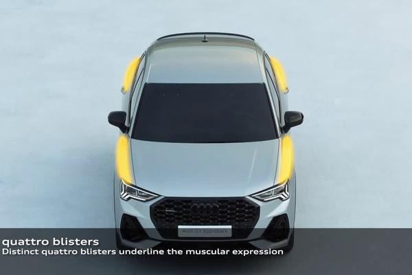 视频:Audi Q3 Sportback 外观设计还是相当出色的!