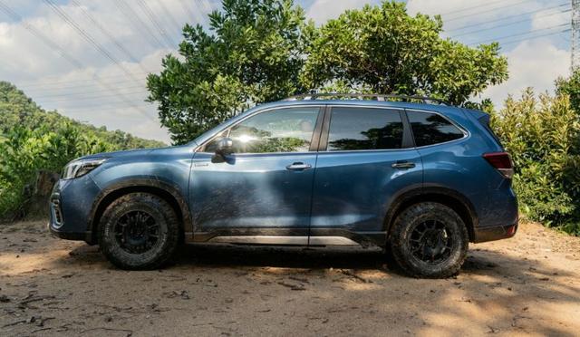 「城市派」里的另类,同级最棒的全时四驱SUV—试驾斯巴鲁森林人