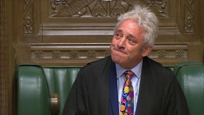 """英国下议院议长宣布将辞职 再也听不到他的""""Order""""了"""
