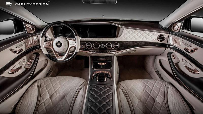 多处采用黄金打造 梅赛德斯-迈巴赫S 650 Aurum版内饰官图发布