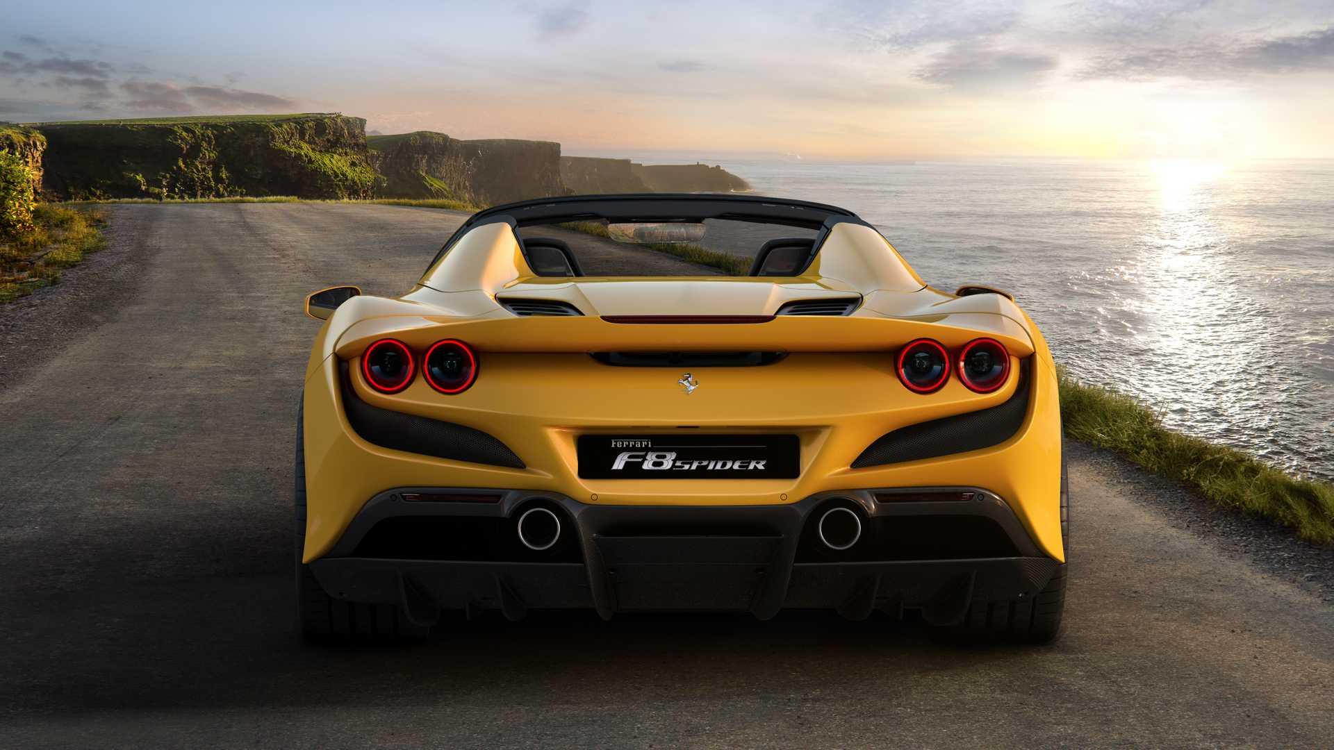 将于法兰克福车展亮相 法拉利F8 Spider官图发布
