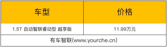 比亚迪宋MAX新增1.5T自动智联睿动型越享版 指导价11.99万元