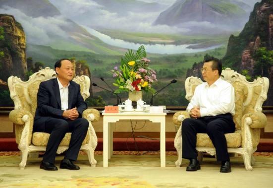 黑龙江省委常委副省长王永康会见蒙牛集团党委书记孟凡杰一行