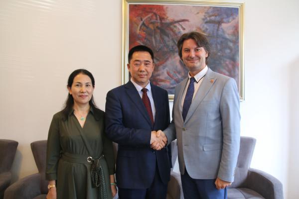张佐履新中国驻北马其顿大使此前任驻孟加拉大使