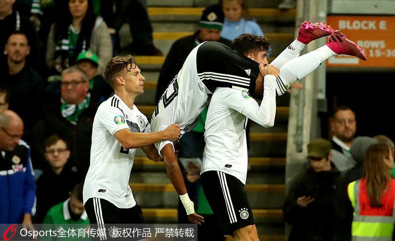 欧预赛-格纳布里补时破门 德国2-0登积分榜首
